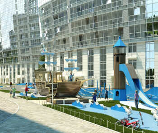 Детские игровые площадки в морской тематике
